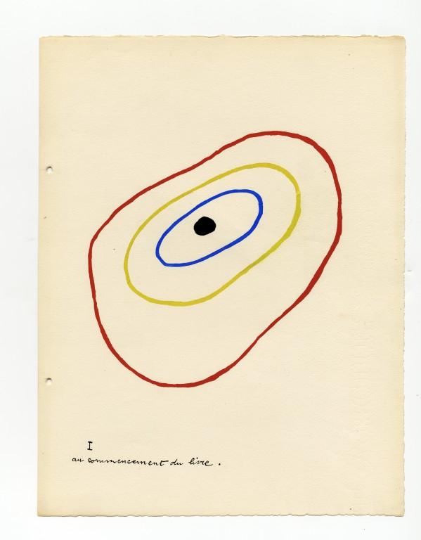 1928 — Il était une petite pie — Joan Mirò — Lise Hirtz<br/>© Jeanne Bucher Jaeger
