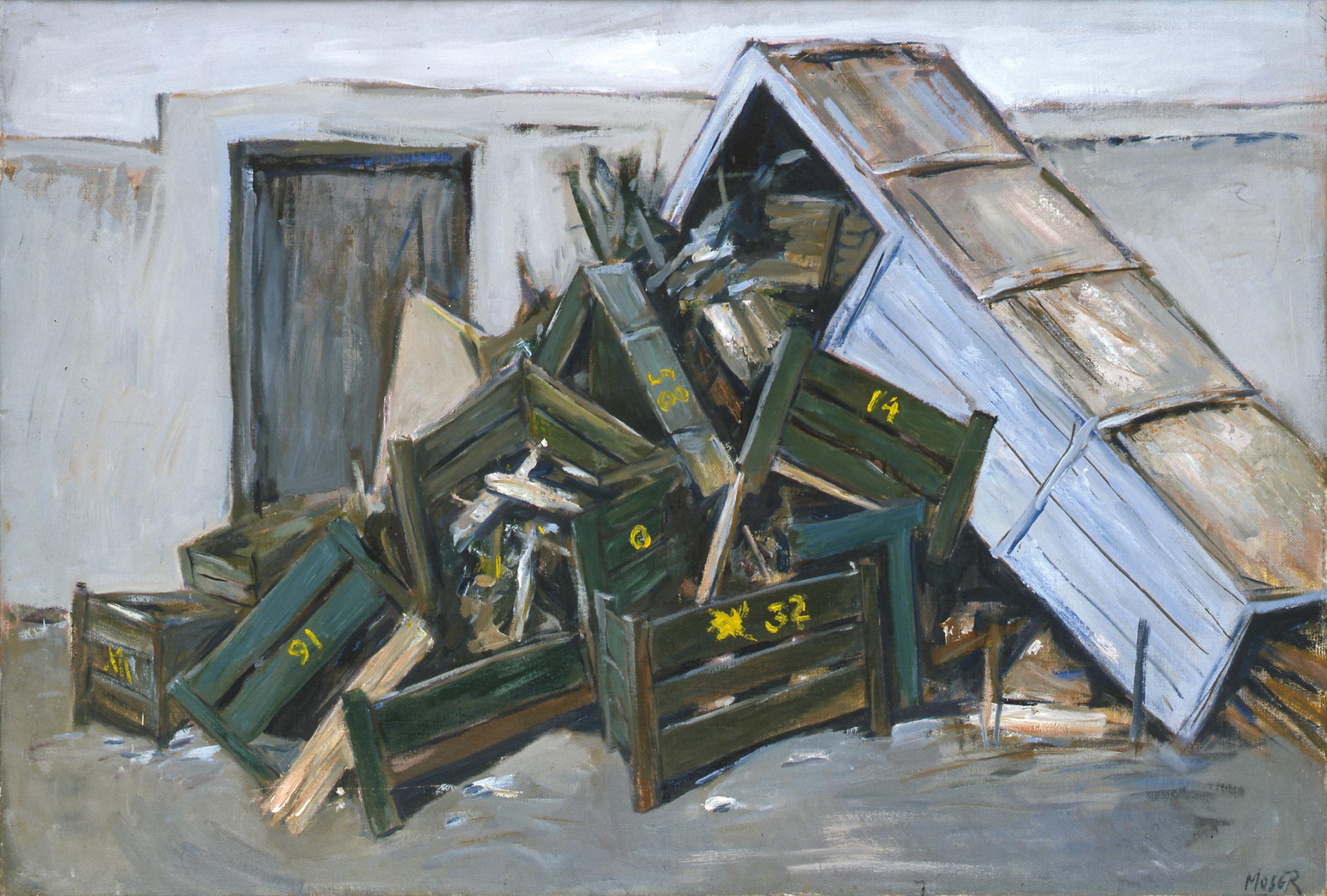 moser wilfrid jeanne bucher jaeger galerie d 39 art paris. Black Bedroom Furniture Sets. Home Design Ideas