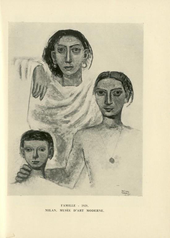 1931 — Massimo Campigli — Massimo Campigli<br/>© Jeanne Bucher Jaeger
