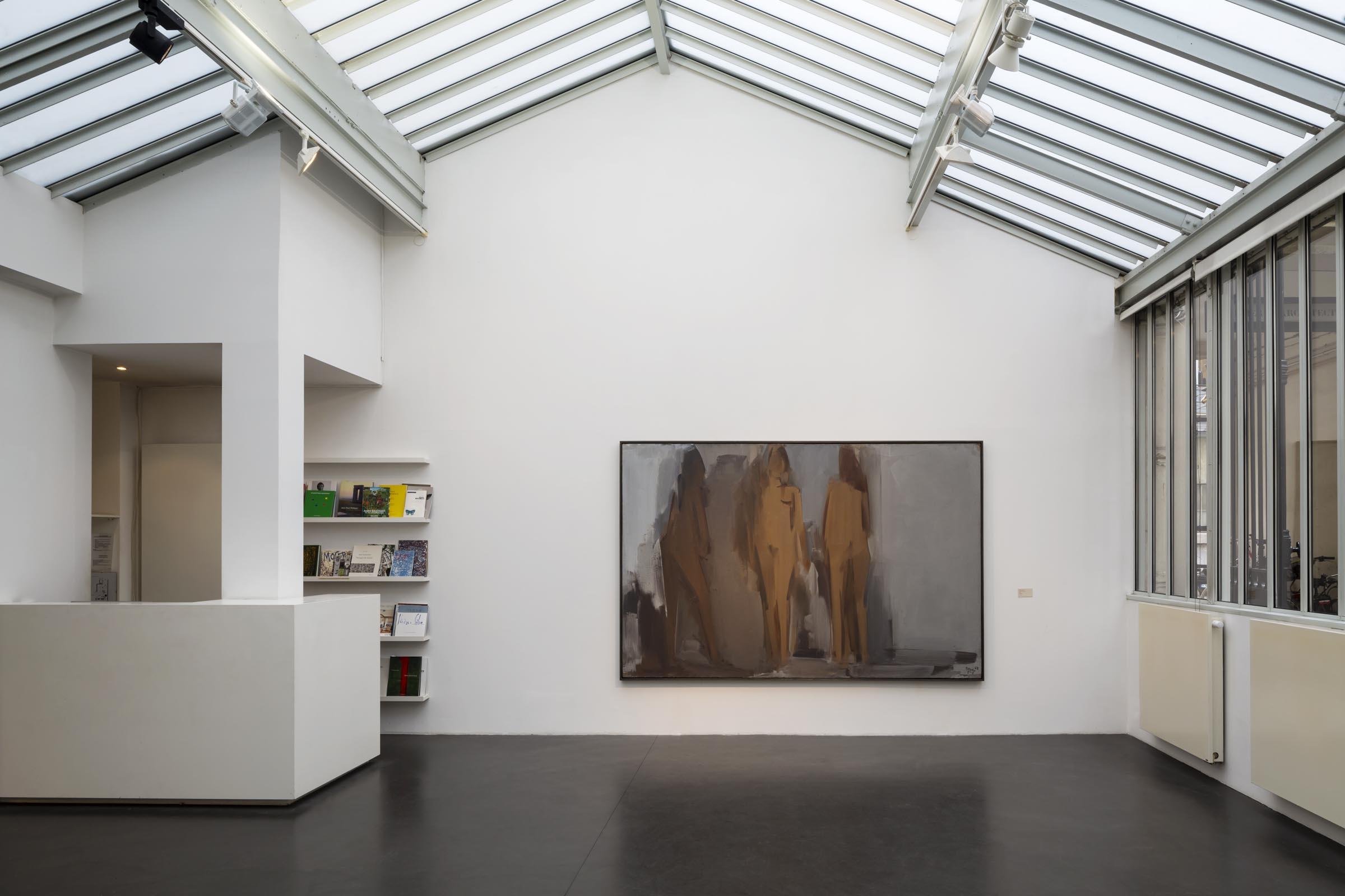 question de peinture jeanne bucher jaeger galerie d. Black Bedroom Furniture Sets. Home Design Ideas