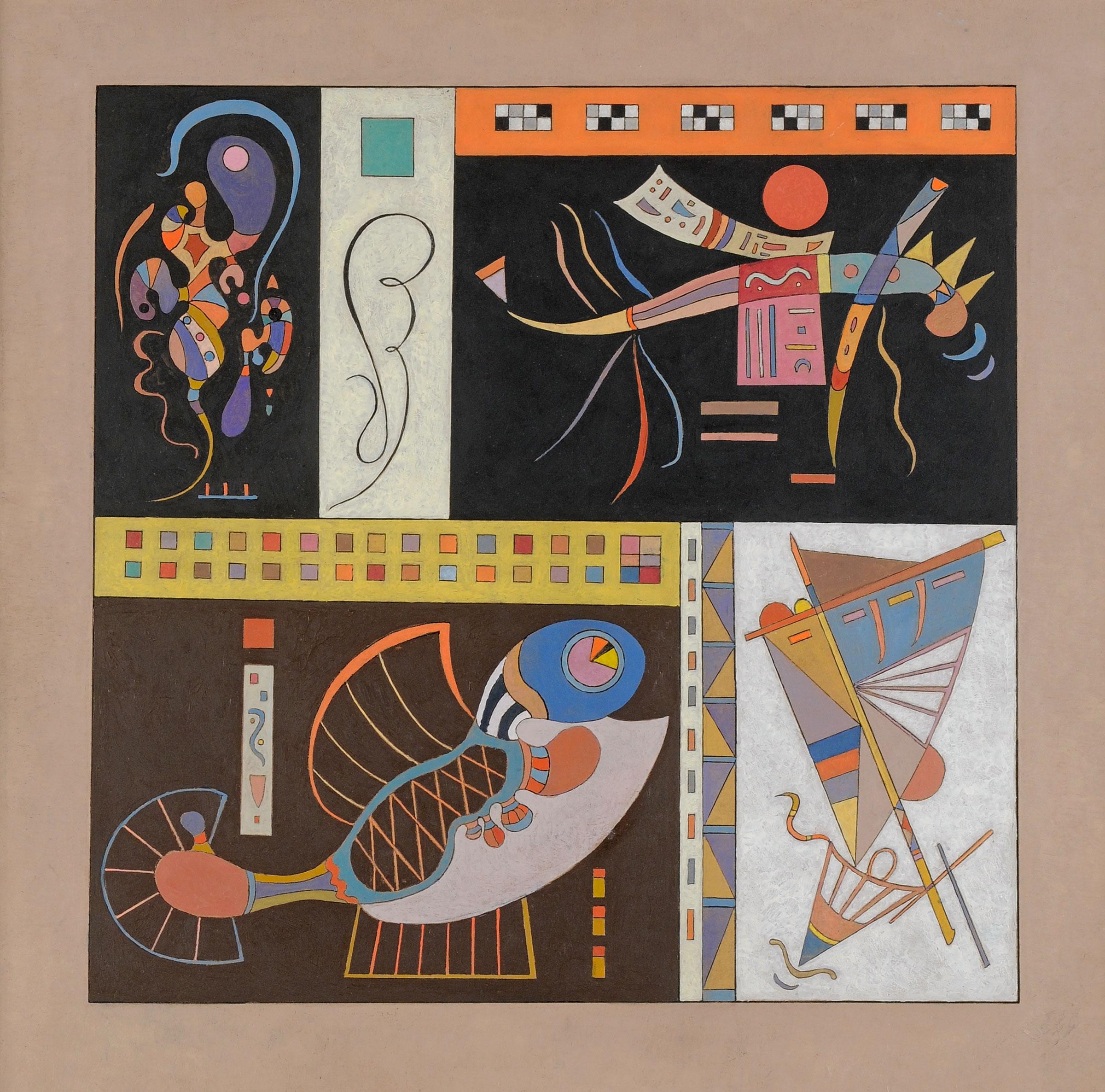 Kandinsky - Les années parisiennes (1933-1944) - Jeanne Bucher ...