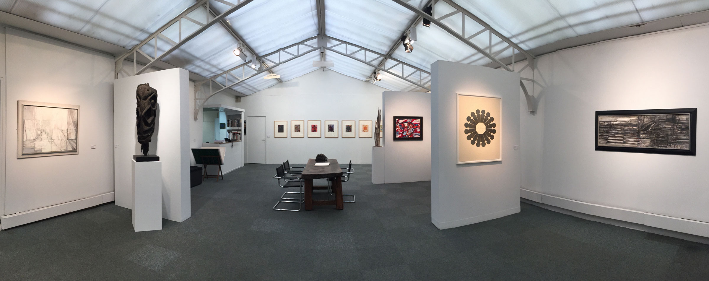 dialogue viii jeanne bucher jaeger galerie d 39 art paris. Black Bedroom Furniture Sets. Home Design Ideas